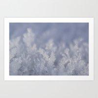 frozen Art Prints featuring Frozen by Iveta S.