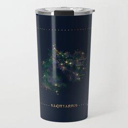 Sagittarius Constellation Travel Mug