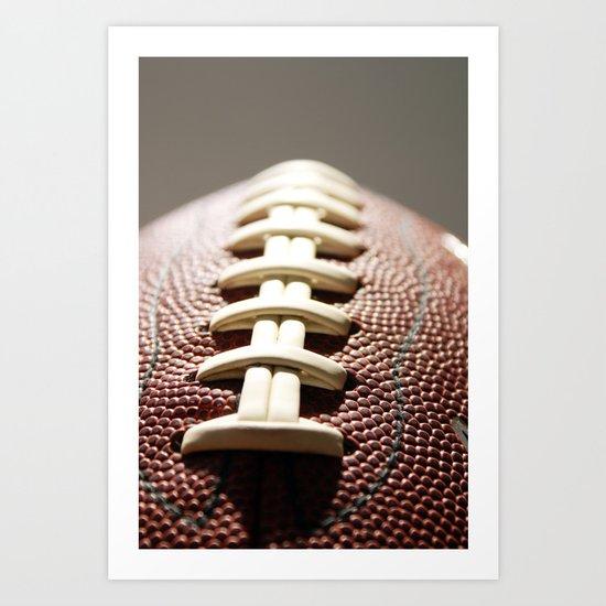 Football Season, American Sports, Pigskin Art Print