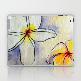 Plumerias Laptop & iPad Skin