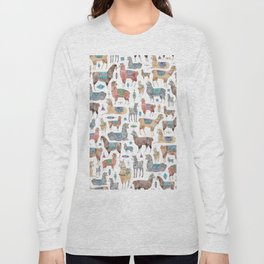 Llamas and Alpacas Long Sleeve T-shirt