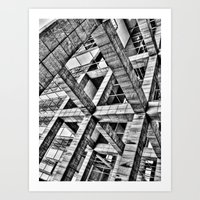 frames Art Prints featuring Frames by Mark Alder