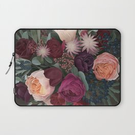 Dark florals Laptop Sleeve