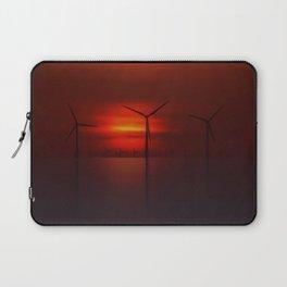 Windmills in the Sun Laptop Sleeve