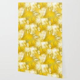 Golden Feathers Wallpaper