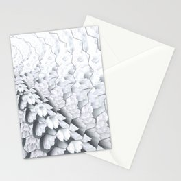 openwork rays Stationery Cards