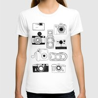 cameras T-shirts featuring Cameras by lusym