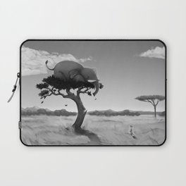 Scaredy Elephant Laptop Sleeve