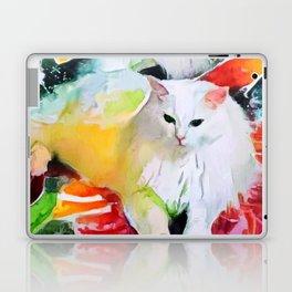 Meowy Christmas! Laptop & iPad Skin