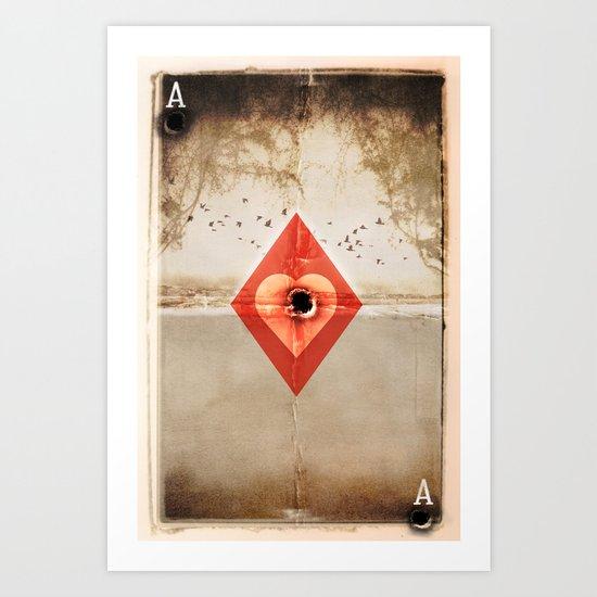 The Hunter Art Print
