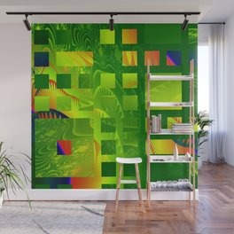 Great Green Frac 5 Wall Mural