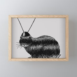 Fuzzy Reception Framed Mini Art Print
