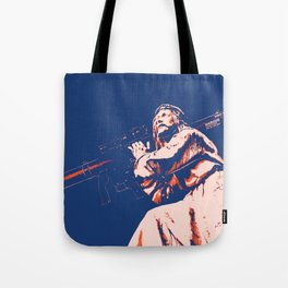 Rocket Propelled Christ - Who WOuld Jesus Blow Up Tote Bag
