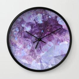 Crystal Gemstone Wall Clock