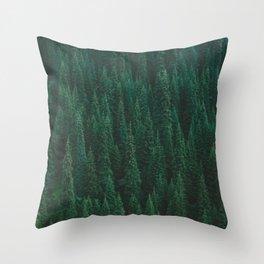 deep woods. Throw Pillow