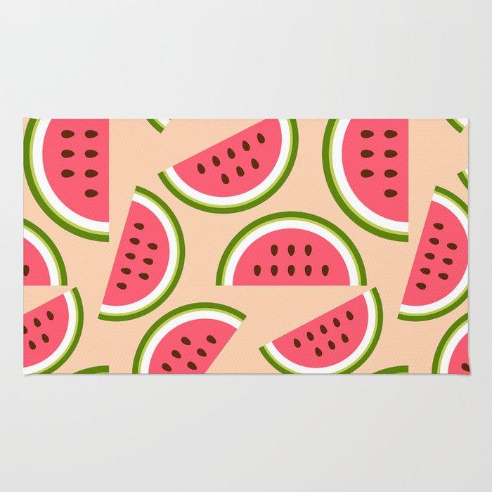 Watermelon pattern Rug