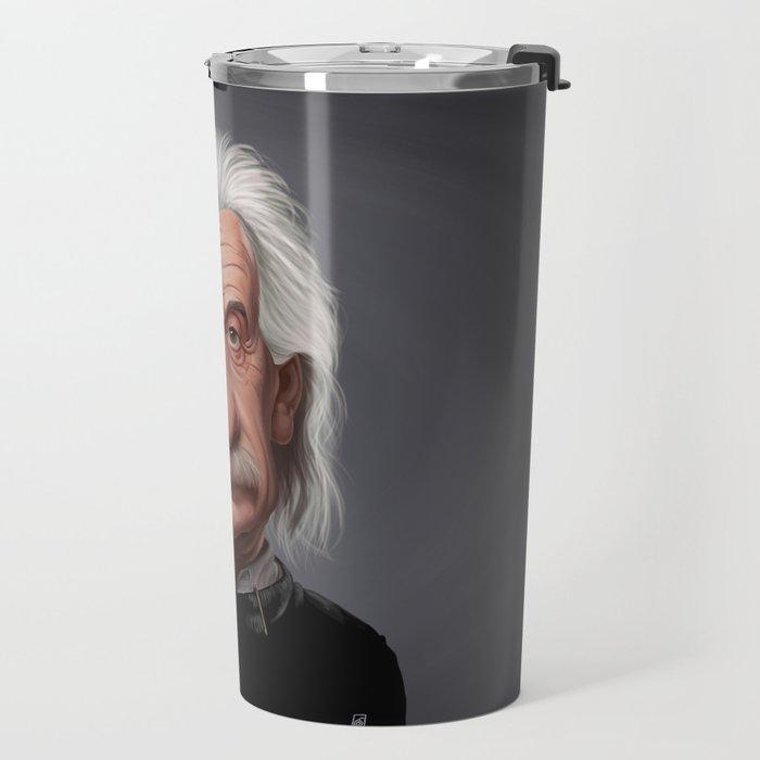 Celebrity Sunday ~ Albert Einstein Travel Mug