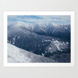 Franconia Ridge, NH Art Print