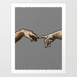 The Creation Art Print