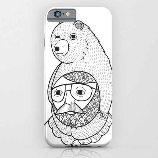 On how baby bears are often used as winter hats iPhone & iPod Case