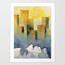 Goodmorning Manhattan Art Print