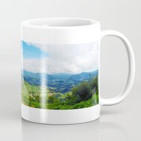 spain Mugs featuring Spain by TCMPicturebook