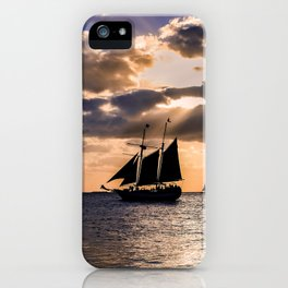 Sunset in Key West, Florida iPhone Case