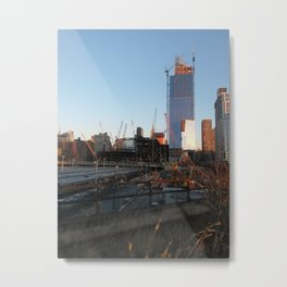 Construction Metal Print