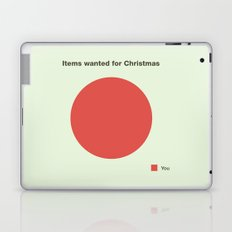 All I want for Christmas Laptop & iPad Skin