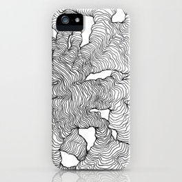 Organic Lines iPhone Case