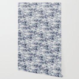 Marble Mist Cool Grey Wallpaper