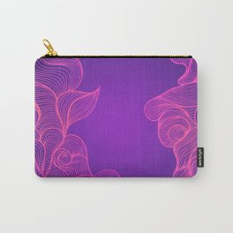 Heat Wave II Abstract Waves Carry-All Pouch