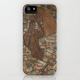 Egon Schiele - Levitation (The Blind II) iPhone Case