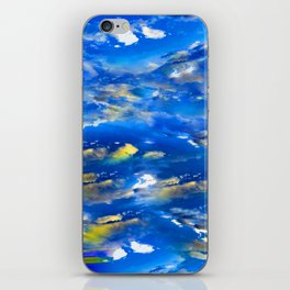 CLOUDS ABSTRACT iPhone Skin