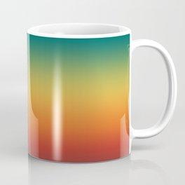 Colorful Trendy Gradient Pattern Coffee Mug