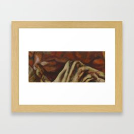 Almost Over Framed Art Print