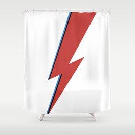 Bowie Bolt Shower Curtain