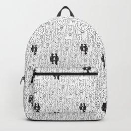 Give me a hug (white pattern) Backpack