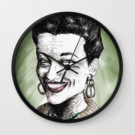 Simone de Beauvoir Wall Clock