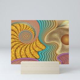 She Sells Seashells Mini Art Print