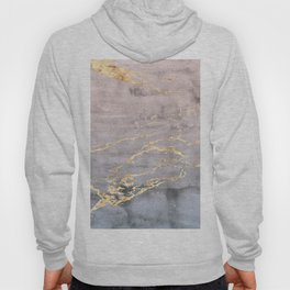 Watercolor Gradient Gold Foil IV Hoody