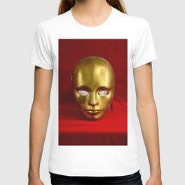 Golden mask T-shirt