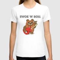 ewok T-shirts featuring Ewok 'N' Roll by Trinity Bennett