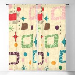 Atomic pattern Blackout Curtain
