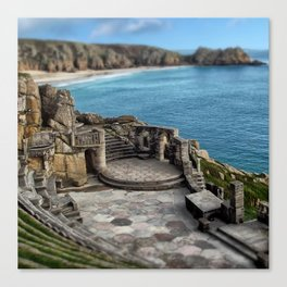 The Minack Theatre Canvas Print