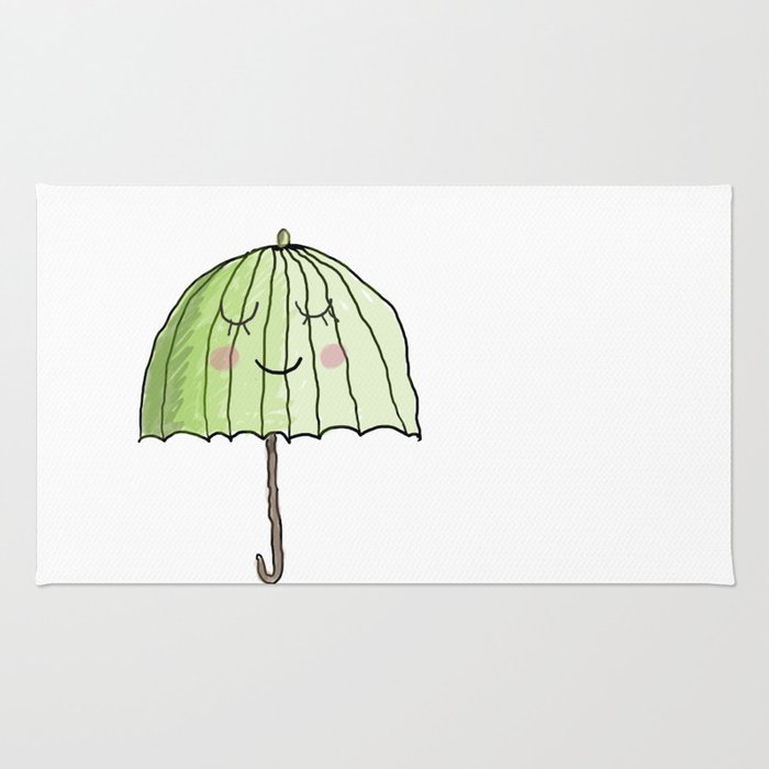 cute UMBRELLA Rug
