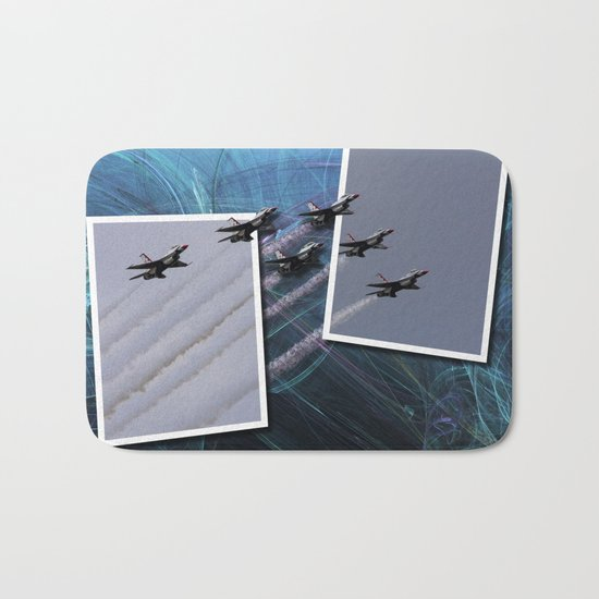 USAF Thunderbirds Bath Mat