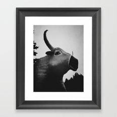 Babe the Blue Ox Framed Art Print