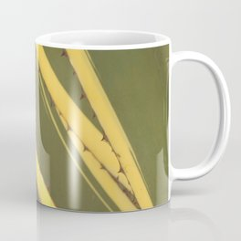 Agave cactus succulent leaves pattern Coffee Mug