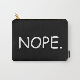 #NOPE Carry-All Pouch